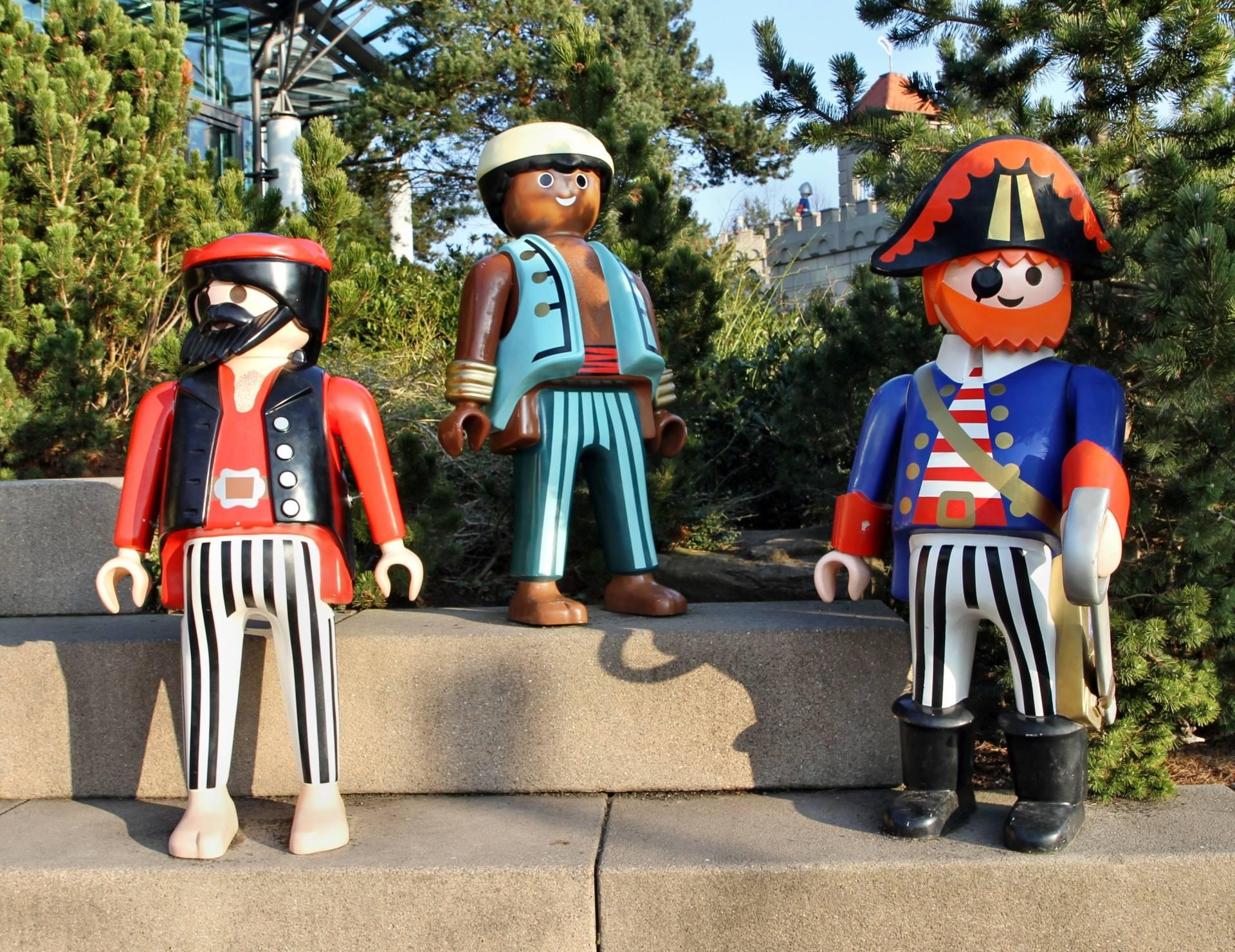 Playmobil Funpark Eintrittspreise 2016: Piraten-Figuren im Playmobil-Funpark