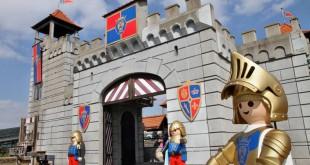 Die Playmobil Ritterburg bildet den Mittelpunkt des Playmobil Funpark.