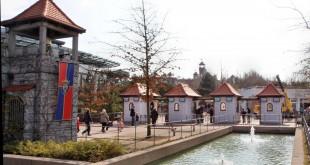 Der Eingangsbereich zum Playmobil Funpark Zirndorf.