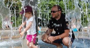 An heißen Tagen lockt der Wasserspielplatz im Playmobil Funpark Zirndorf (Foto: Jürgen Krauß)