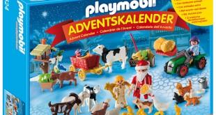 Weihnacht auf dem Bauernhof - so lautet das Motto für einen der brandneuen Playmobil Adventskalender 2015