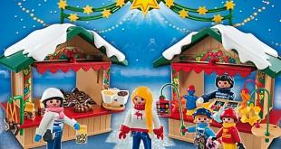 Eines der schönsten Playmobil Weihnachtsgeschenke 2015: der Playmobil Weihnachtsmarkt.