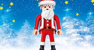 Ein echter Hingucker, nicht nur in den Weihnachtsferien: Der riesige Playmobil XXL-Weihnachtsmann.
