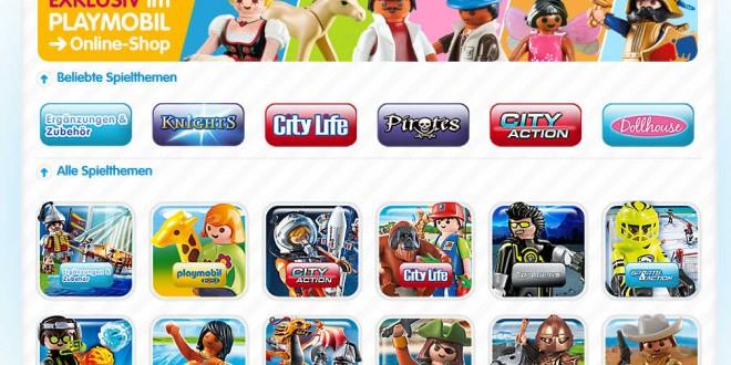 Im Playmobil Online-Shop finden Sie das komplette lieferbare Playmobil-Sortiment.
