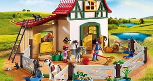 Der neue Playmobil Ponyhof wird ab Januar 2016 ausgeliefert.