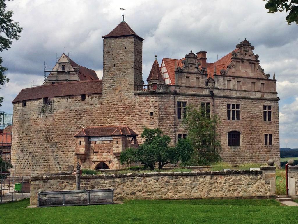 Seit Juni 2017 wieder für die Öffentlichkeit zugänglich: die aufwändig umgebaute Burg Cadolzburg.