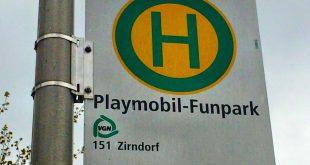 Mit Bus und Bahn ins Playmobilland: Der Funpark ist aus dem gesamten Großraum Nürnberg schnell erreichbar.