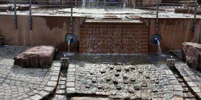 Wasserspaß pur: Der Wasserspielplatz im Playmobil Funpark ist nicht nur bei Hitze umlagert.