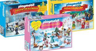 Die drei neuen Playmobil Adventskalender 2016 im Überblick: Eislaufprinzessin, Juweliergeschäft, Weihnacht auf dem Bauernhof.