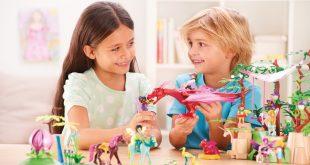 """Eine der Playmobil Neuheiten 2017: der """"magische Feenwald"""" (Foto: Playmobil)"""