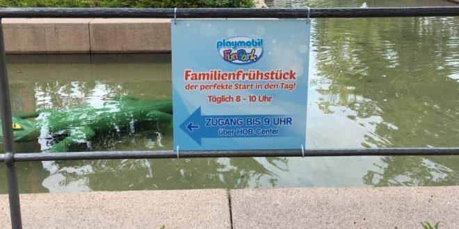 Familienfrühstück im Playmobil Funpark 2019