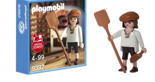 """Exklusiv zum 90. Jubiläum von Lebkuchen Schmidt wurde die Playmobil-Sonderfigur """"Der Lebküchner"""" aufgelegt."""