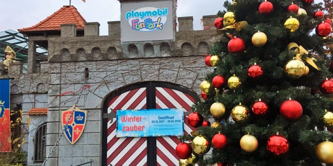 Wintersaison 2018 / 2019 im Playmobil Funpark Zirndorf