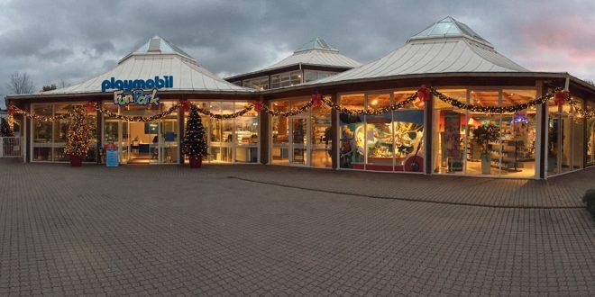 Fabrikverkauf Nürnberg: Der Playmobil Funpark Shop bietet eine große Auswahl an Schnäppchen und Auslaufmodellen.