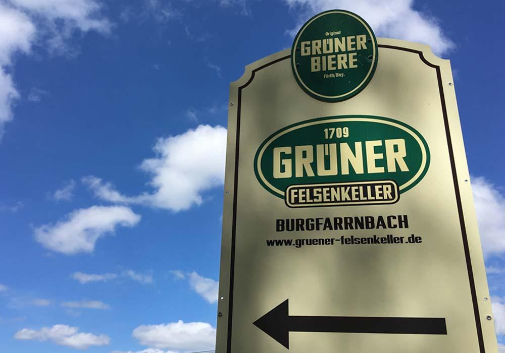 """Autofreie Zone: Der """"Grüner Felsenkeller"""" ist nur zu Fuß zu erreichen. Rund um den Stadtwald gibt es hinreichend Parkplätze für Wanderer."""