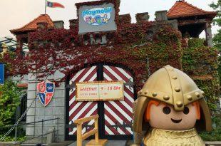 Herbstferien 2018 im Playmobilland: Noch bis 4. November 2018 ist der Außenbereich geöffnet.