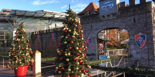 Winterzauber 2019/2020: Der Playmobil Funpark im Winter