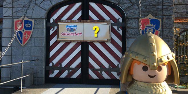 Saisonstart 2021: Playmobil Funpark bleibt bis März 2021 geschlossen