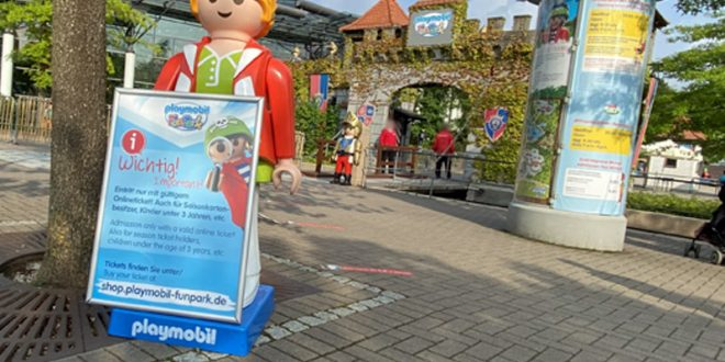 Playmobil Funpark im August 2020: Öffnungszeiten, Eintrittspreis, Maskenpflicht