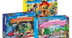 Die neuen Playmobil Adventskalender 2020 im Überblick (Abbildungen: Playmobil)